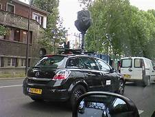 Google Street View Car In Auteuil Neuilly Passy