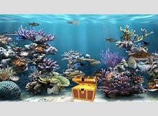 Fish Tank Moving Desktop Backgrounds   Animated Aquarium