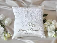 lace wedding pillow vinateg ring bearer pillow white ring pillow classic ring pillow