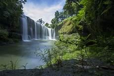 Air Terjun Temam Sumatera Selatan Keindahan Niagara Mini