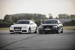 Black & White His And Hers Reiger Audi S5s  Cars