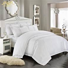aliexpress com buy romorus wholesale hotel bedding 4 6 pcs white king queen size 100