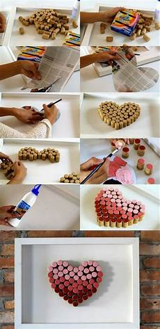 1001 Ideen Zum Thema Basteln Mit Weinkorken Wanddeko