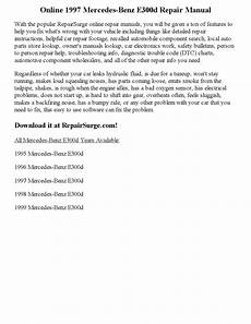 online car repair manuals free 1997 mercedes benz e class head up display 1997 mercedes benz e300d repair manual online by calvin mccray issuu
