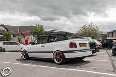 White Vw Mk3 Cabrio Vw Golf Tuning