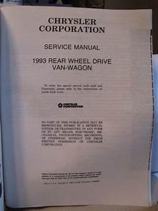 manual repair autos 1993 dodge ram wagon b150 navigation system sell 1993 dodge ram van ram wagon b150 b250 b350 service repair shop manual book 93 motorcycle
