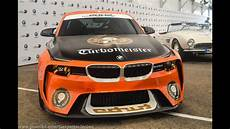 world premiere bmw 2002 homage concept turbomeister