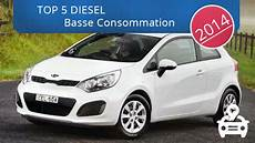 top 5 des voitures diesel qui consomment le moins legipermis