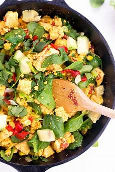 simple tofu scramble vegan kitchen