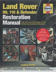 online car repair manuals free 1996 land rover range rover electronic toll collection land rover 90 110 and defender restoration manual uk sagin workshop car manuals repair books