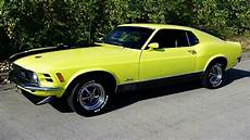 1970 ford mustang mach 1 428 cobra jet fastback youtube