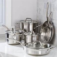 Amazon Com 10sets Of 5pcs Calphalon 174 Signature Stainless Steel 10 Piece Cookware