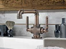 industrial kitchen sink faucet industrial style faucets by watermark to give your plumbing the cool look you always wanted