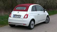 2016 fiat 500 c 1 2 8v 69 hp test drive by test drive