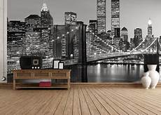 new york city mural wallpaper wall mural new york city black white photo wallpaper