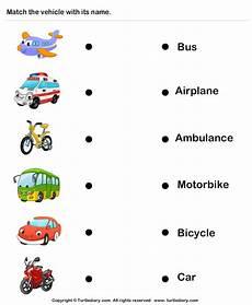 worksheets on vehicles 15217 names of vehicles worksheet turtle diary
