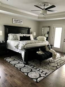 Bedroom Ideas Black Bed by Black And White Master Bedroom Design Home