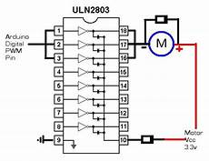 dc motors with an uln2803 let s make robots uln2803 motor driver impremedia net