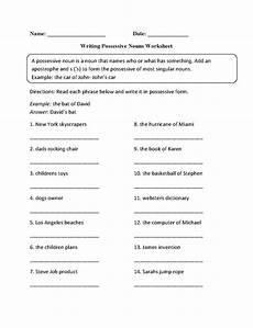 possessive proper nouns worksheets nouns worksheets possessive nouns worksheets