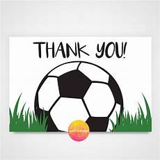 soccer thank you card printable soccer birthday printable party invitations ticket invitation 2