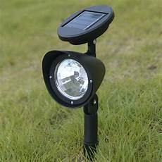 8x led solar spot light outdoor garden lawn spotlight landscape path light l ebay