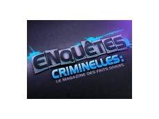 www replay fr enquetes criminelles replay sur w9 et m6