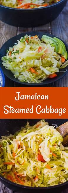 jamaican steamed cabbage healthier steps