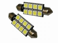 smd soffitte mit 8 led innenraumbeleuchtung 12v 10w 42mm