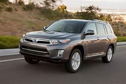 2013 Toyota Highlander Hybrid Reviews And Rating  Motor Trend