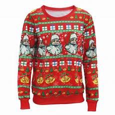 2019 wholesale santa claus x tree reindeer patterned