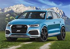 2015 audi q3 gets abt cosmetic tuning 210 hp upgrade for
