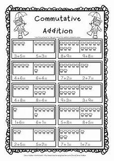 addition using properties worksheets for grade 1 9477 commutative property of addition grade one adding strategy worksheets