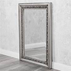 spiegel silber antik spiegel argento silber antik 70x50cm 4077