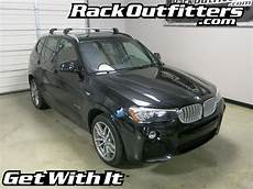 X3 Roof Rack by Bmw X3 Thule Silver Aeroblade Edge Base Roof Rack 11 15