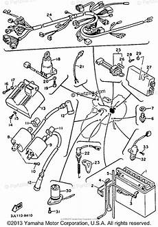 yamaha motorcycle 1993 oem parts diagram for electrical 1 partzilla com
