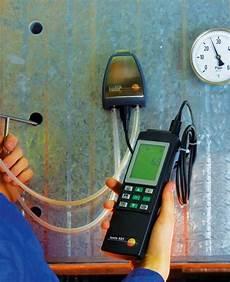 calcul g 233 noise et manom 232 tre diff 233 rentiel testo 521 2 pression