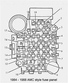 Need A Wiring And Fuse Box Diagram 1989 Jeep