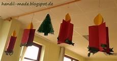 Bastelideen Weihnachten Grundschule - kerzen basteln basteln im advent einfach leicht