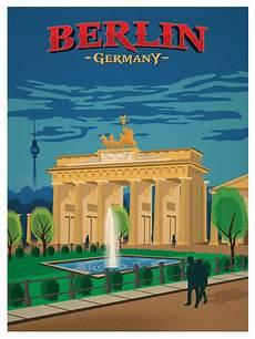 Vintage Berlin - ideastorm studio store vintage berlin poster