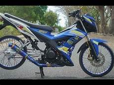 Honda Sonic Modif by Tm2 Modifikasi Motor Honda All New Sonic 150 R