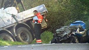 BBC News Female Driver 35 Killed In Car Fire Crash