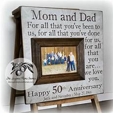 Parents 50th Wedding Anniversary Gifts