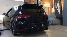 underground exhaust vw golf 7 gti stage 3 klappenauspuff