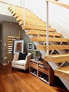 Modern Storage Ideas Small Spaces Staircase Design Storage Space