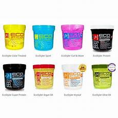 different types of hair gel eco styler professional styling gel choose yours ebay