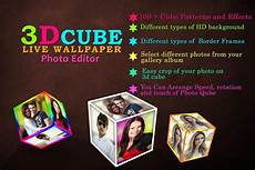 3d cube live wallpaper free 3d cube live wallpaper photo editor for android apk