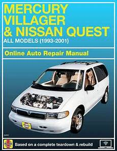 online auto repair manual 1993 mercury villager lane departure warning 1995 mercury villager haynes online repair manual select access ebay