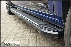Vw T5 T6 Transporter Black Silver Side Step Running Board