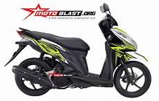 Modifikasi Vario 125 Pgm Fi by Modifikasi Motor Matic Terbaru Striping Honda Vario 125