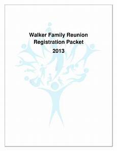 family reunion registration form fill online printable fillable blank pdffiller
